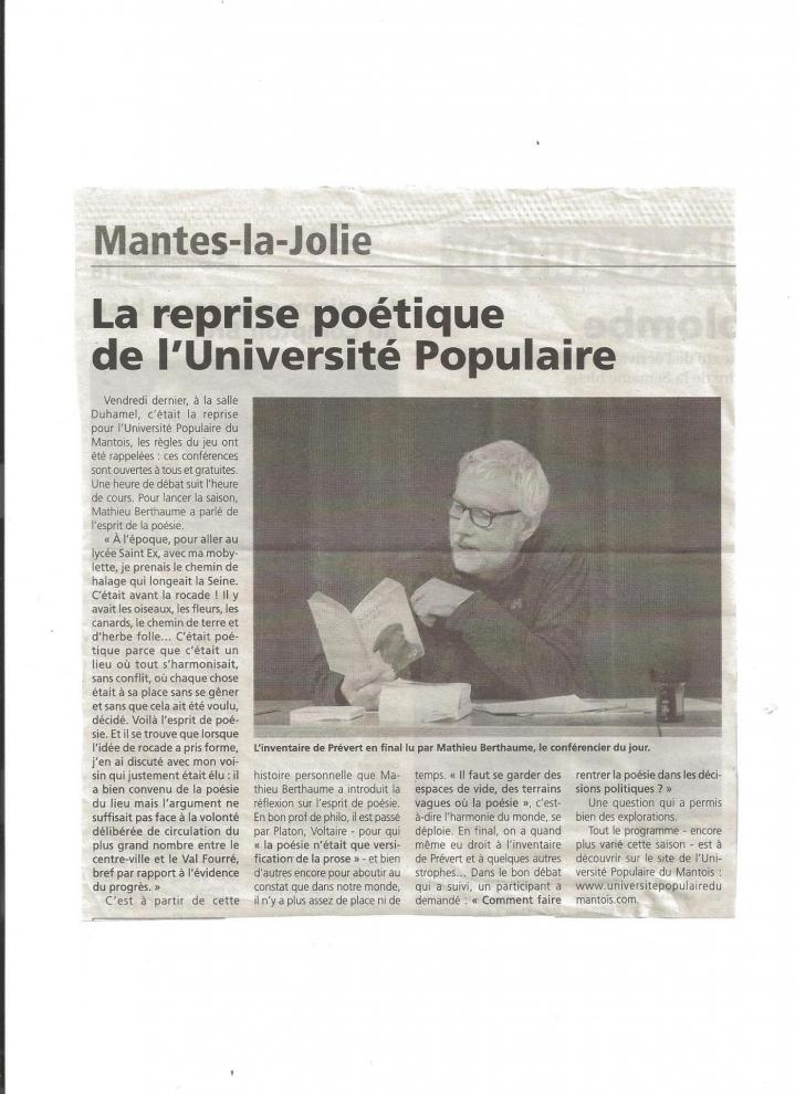 Reprise poetique upm 7 10 16
